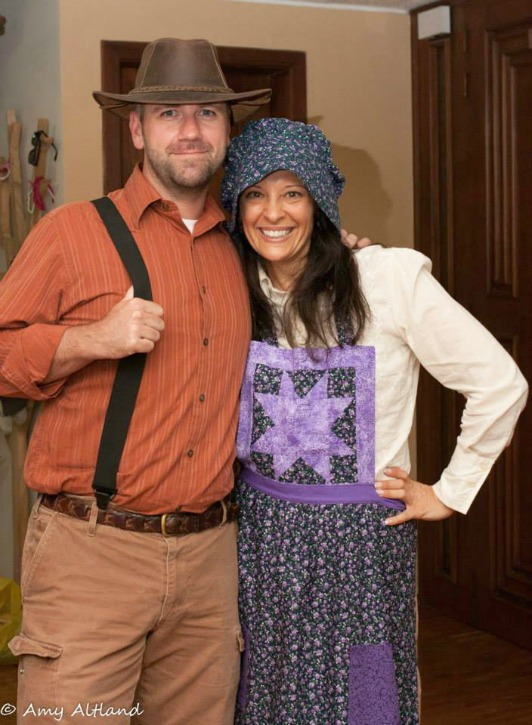 ingalls couple costume