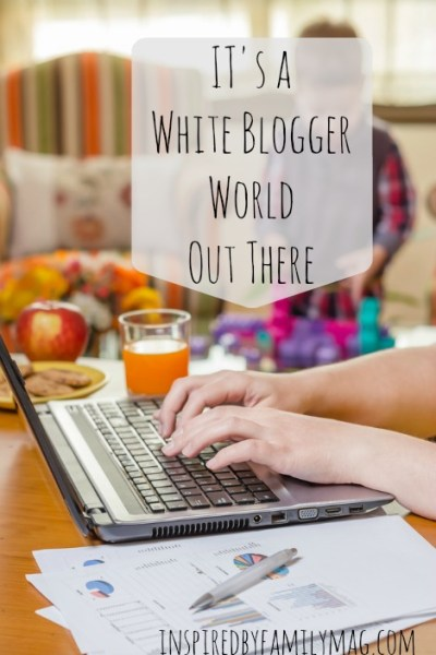 It's a White Blogger World Out There