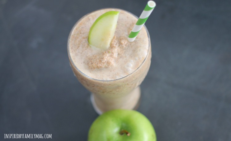 apple cinnamon detox smoothie
