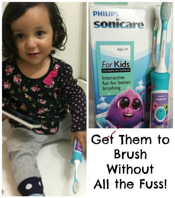 brush without fuss