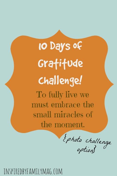 gratitude photo challenge