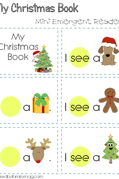 My Christmas Book Printable
