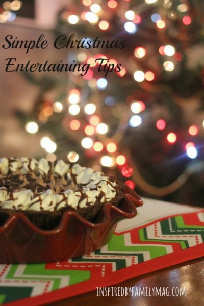 Simple Christmas Entertaining Tips