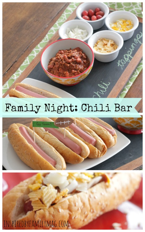 family night chili bar 1