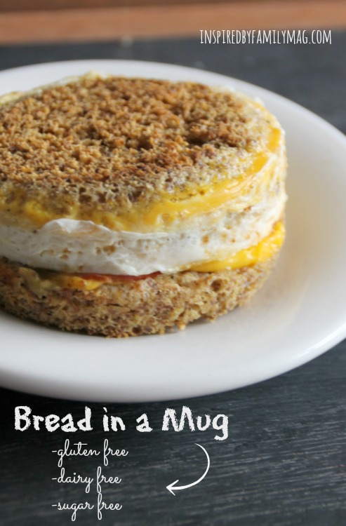 bread in a mug recipe