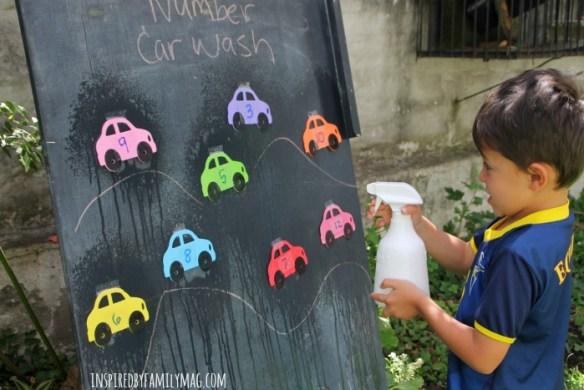 numbers car wash 2