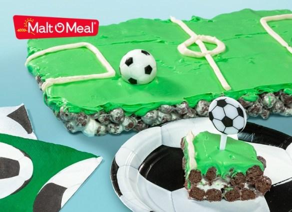 soccer field party idea