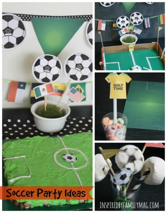 soccer party ideas 2
