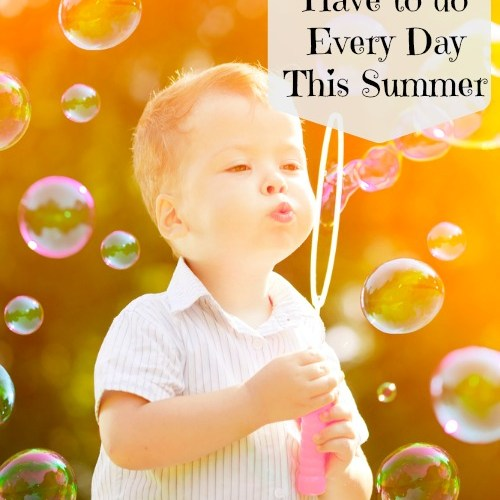 5 Things My Kids Do Every Day in the Summer