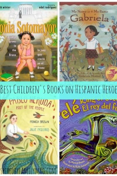 16 Best Latino Children's Books on Hispanic Heroes