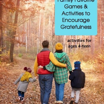 Our Absolute Favorite Family Games and Activities to Encourage Gratefulness