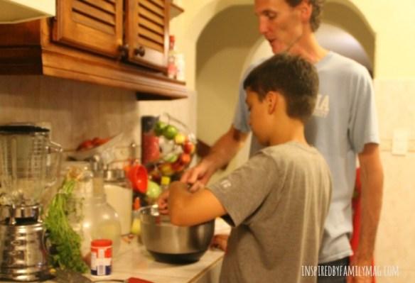family-baking
