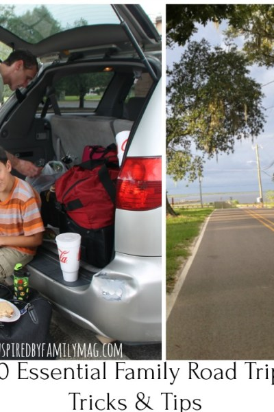 10 Essential Family Road Trip Tricks and Tips