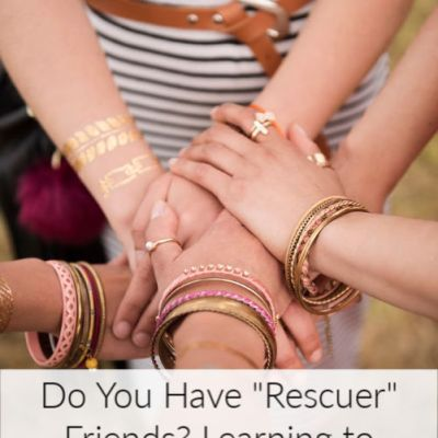 "Do You Have ""Rescuer"" Friends? Learning to Release Them"