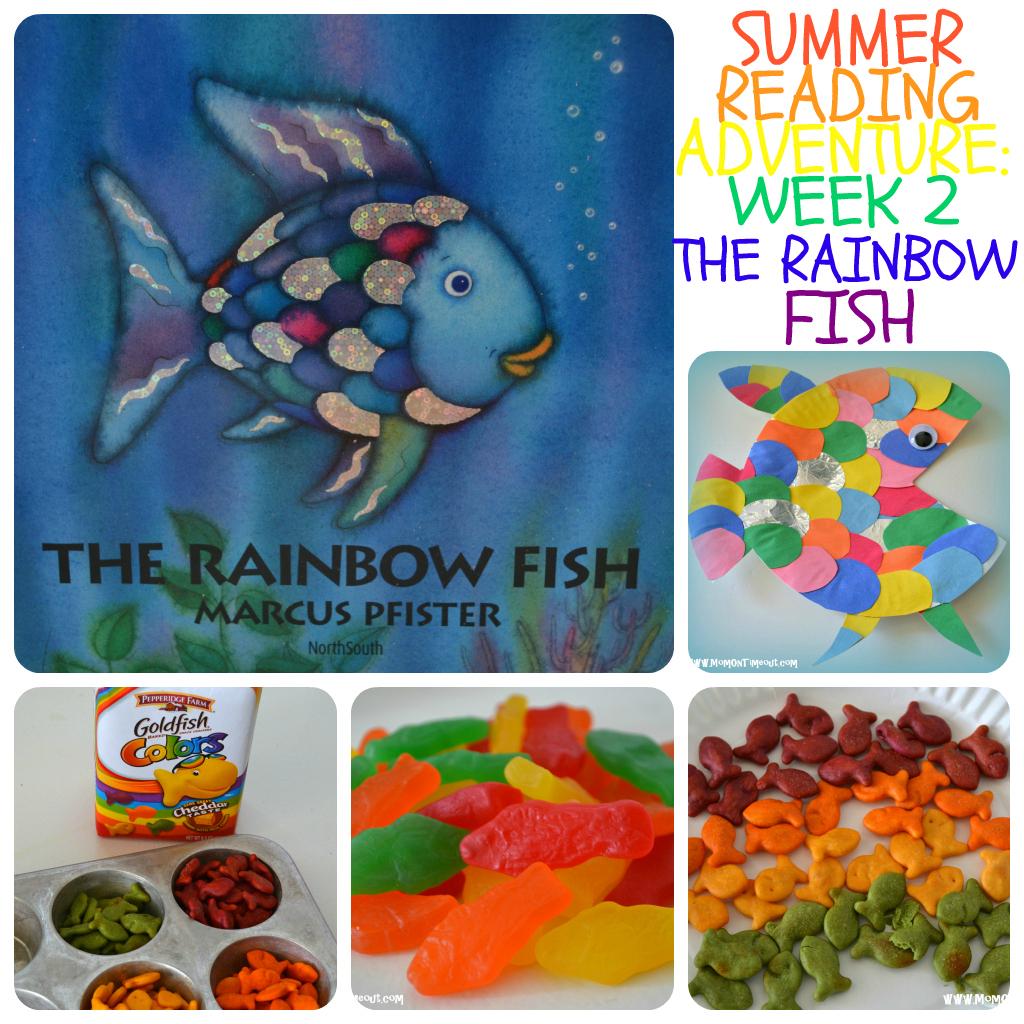 Summer Reading Adventure Week 2 The Rainbow Fish