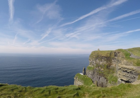 The coast of the Cliffs of Moher