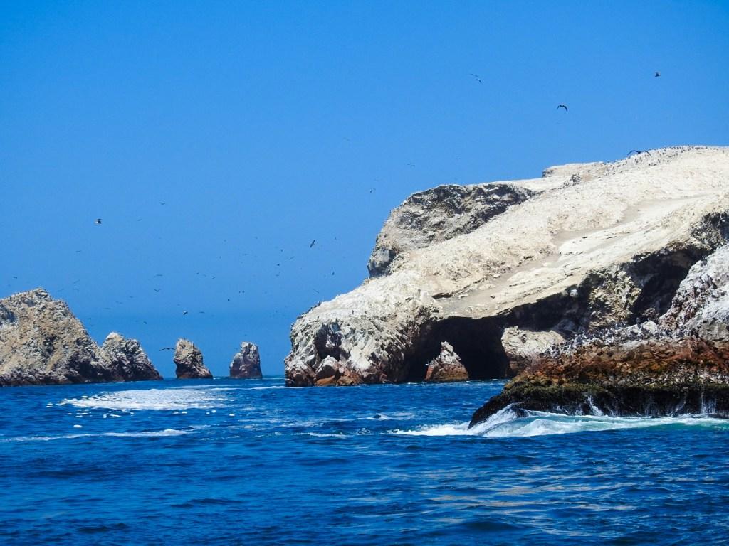 Rocks off the Coast of Paracas, Peru