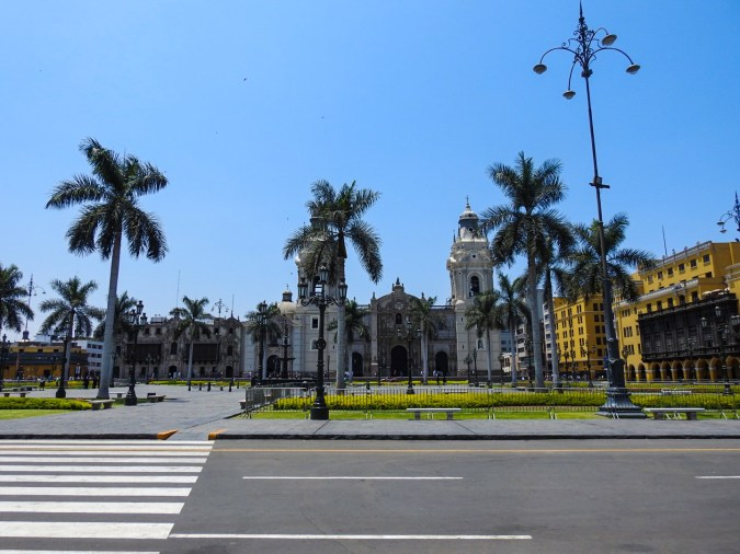 Center of Downtown Lima, Peru