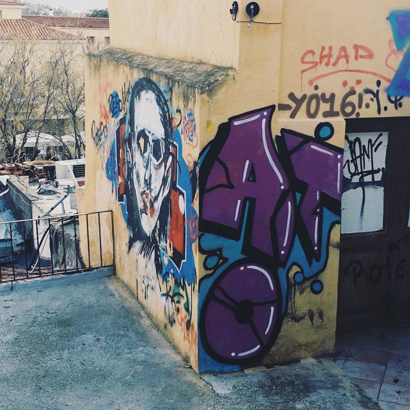 Street Art in Downtown Athens