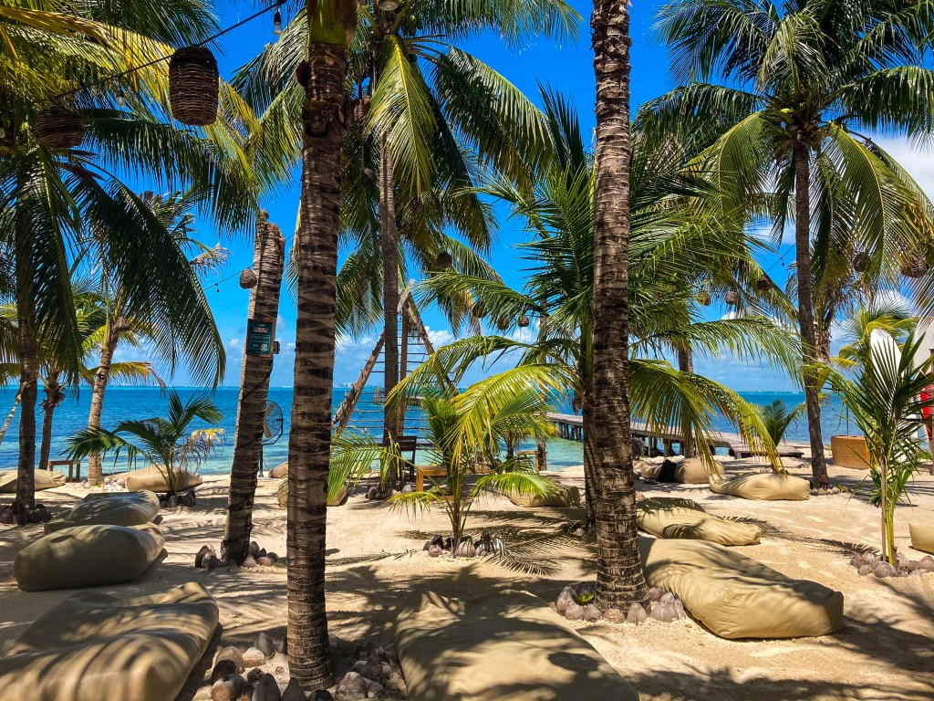 Private Beach at Nomads Hotel Hostel and Beach Club
