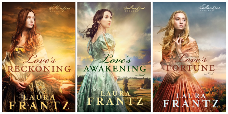 Cover Candy (Guest Blogger, Laura Frantz)