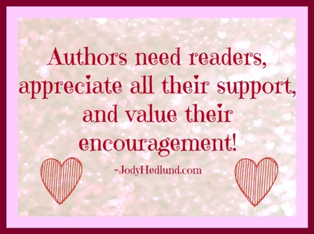 Authors need readers -
