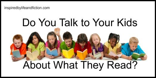 Do You Talk to Your Kids About What They Read?