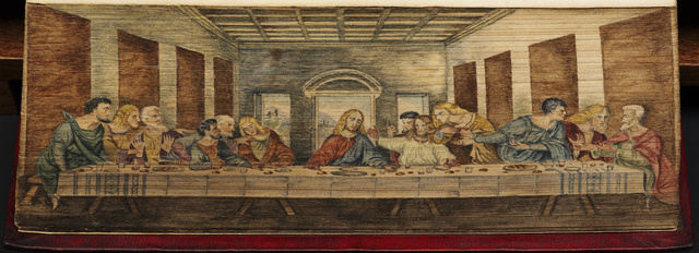 Last-Supper-Fore-Edge