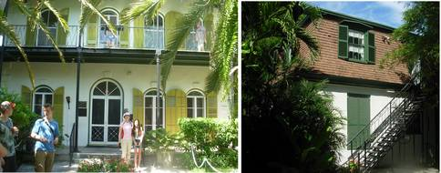 Hemingway's home & office
