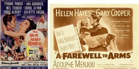 movies based on Hemingway novels