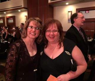 Me with dear friend and fellow historical author, Lorna Seilstad with agent and publisher Steve Laube unintentionally photo bombing in the background.