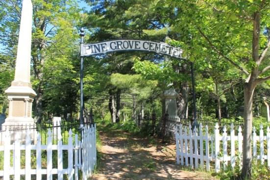 Pine Grove Cemetery in Eagle Harbor