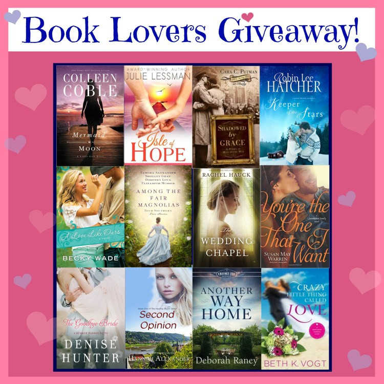 Book Lovers Giveaway Final