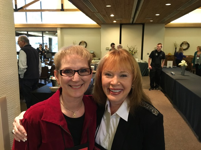What a treat to meet Carol Kent in person.