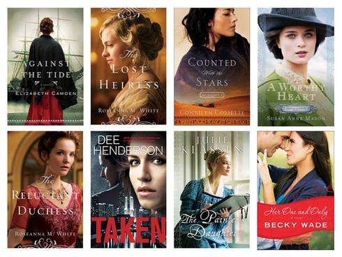 Some of Jennifer Parker's recent covers.
