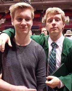 """""""Little"""" Bro & the Grad"""