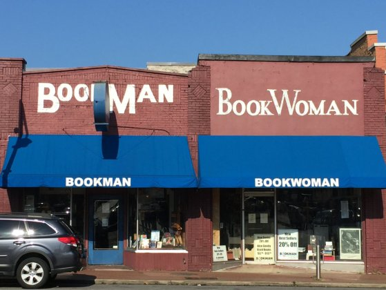 Bookman-woman