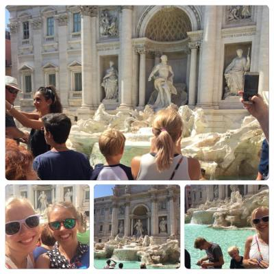 The Trevi Fountain was AMAZING. I think that was my pinch me moment in Rome. It was bigger and more impressive than I anticipated.