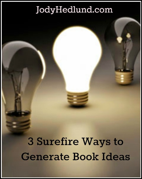 3 Surefire Ways to Generate Book Ideas