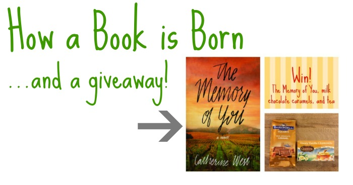 How a Book is Born (and a giveaway)!