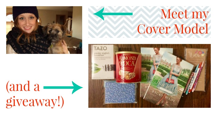 Meet My Cover Model (and a giveaway!)