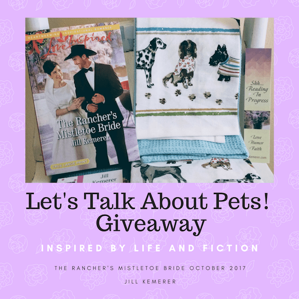 Let's Talk About Pets! {Giveaway}