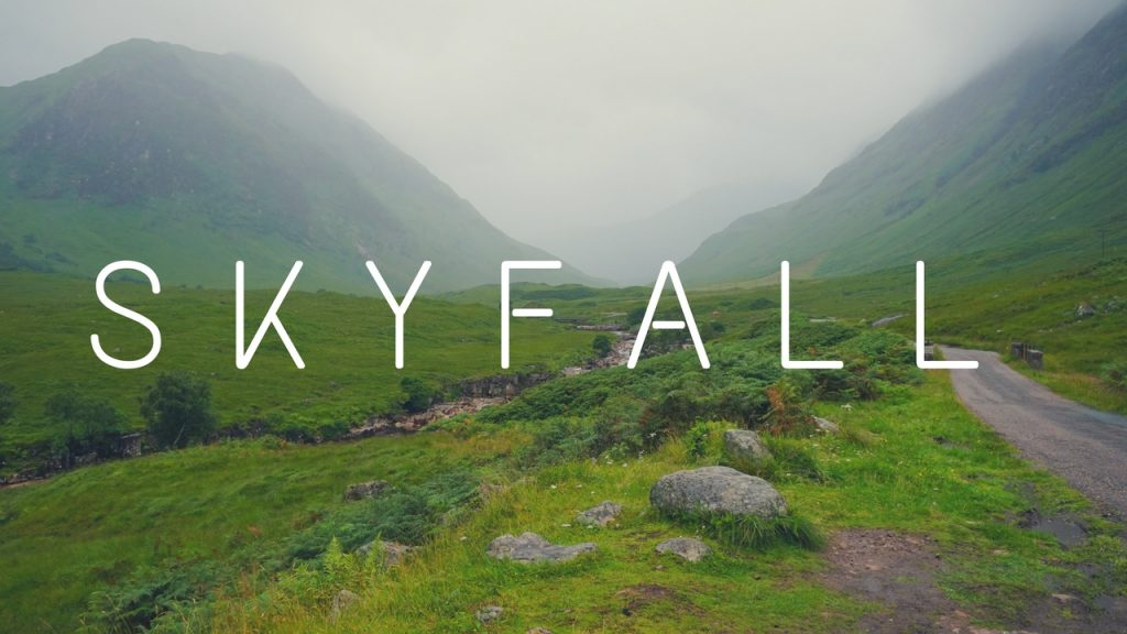 How To Find The James Bond Skyfall Location In Scotland