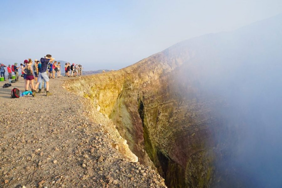 Volcano Day in Leon Nicaragua - How to See Lava at a Active Volcano