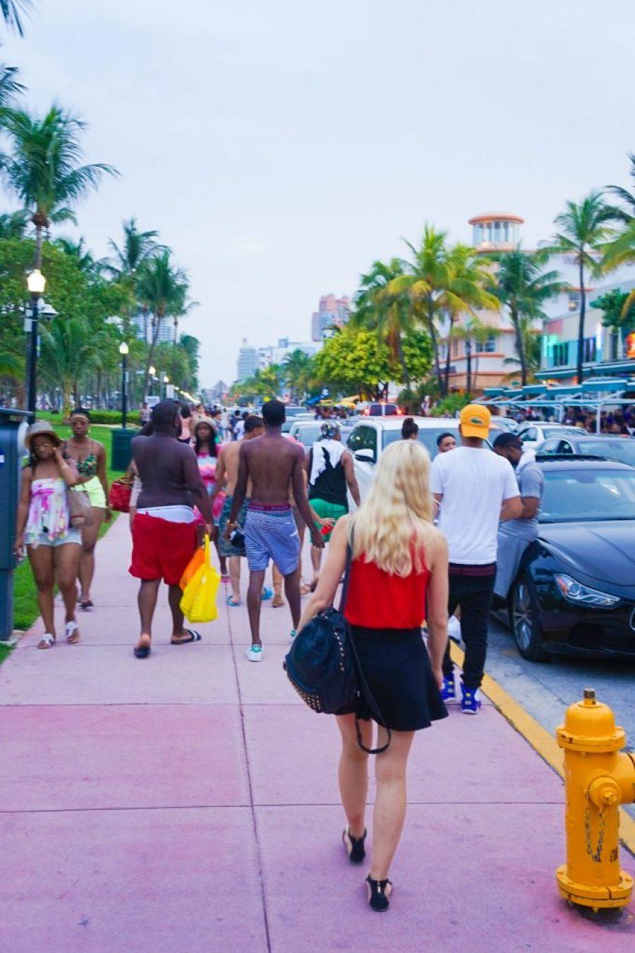 South Beach Sunset Miami