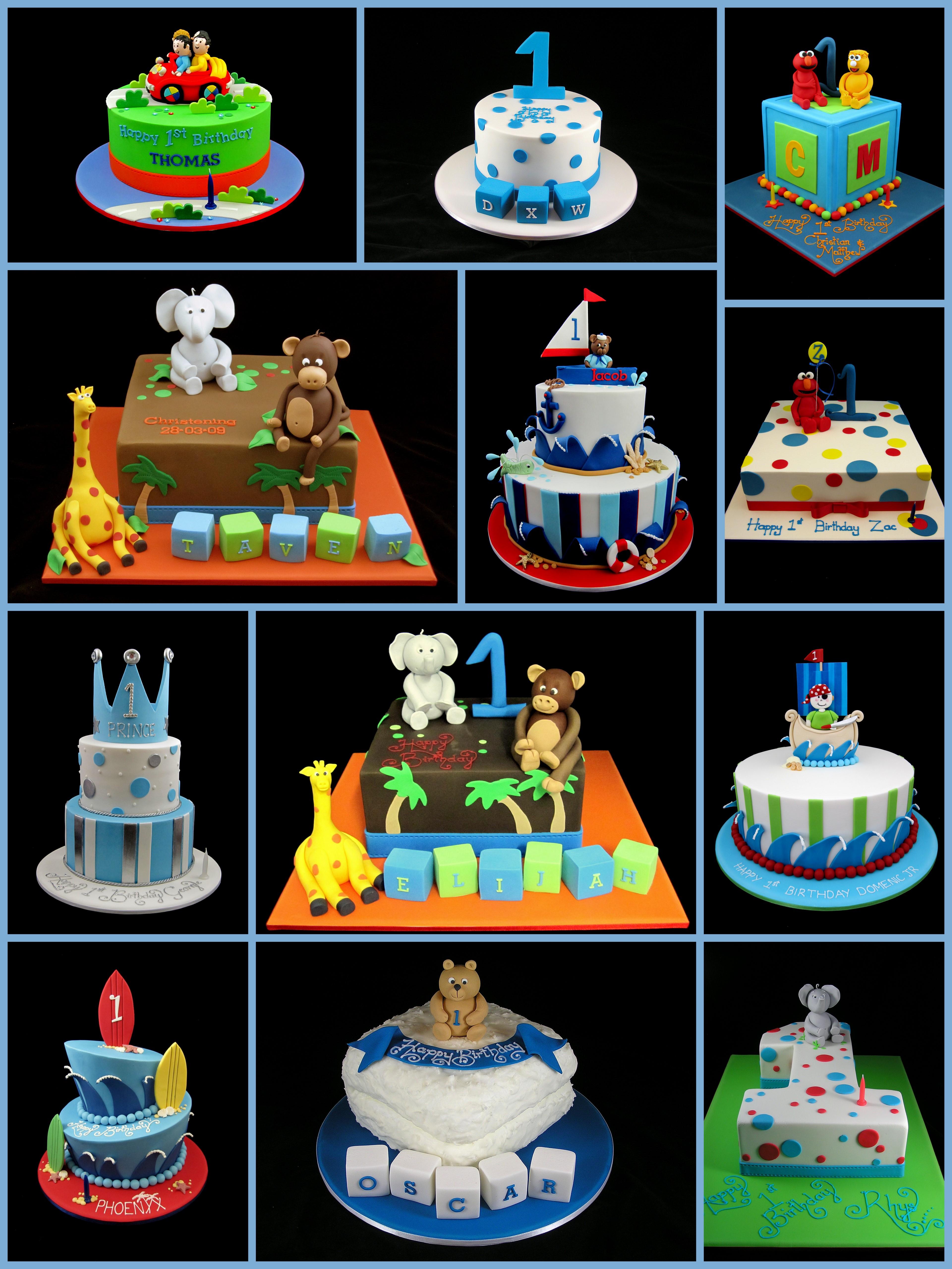 1st Birthday Cake For Boys