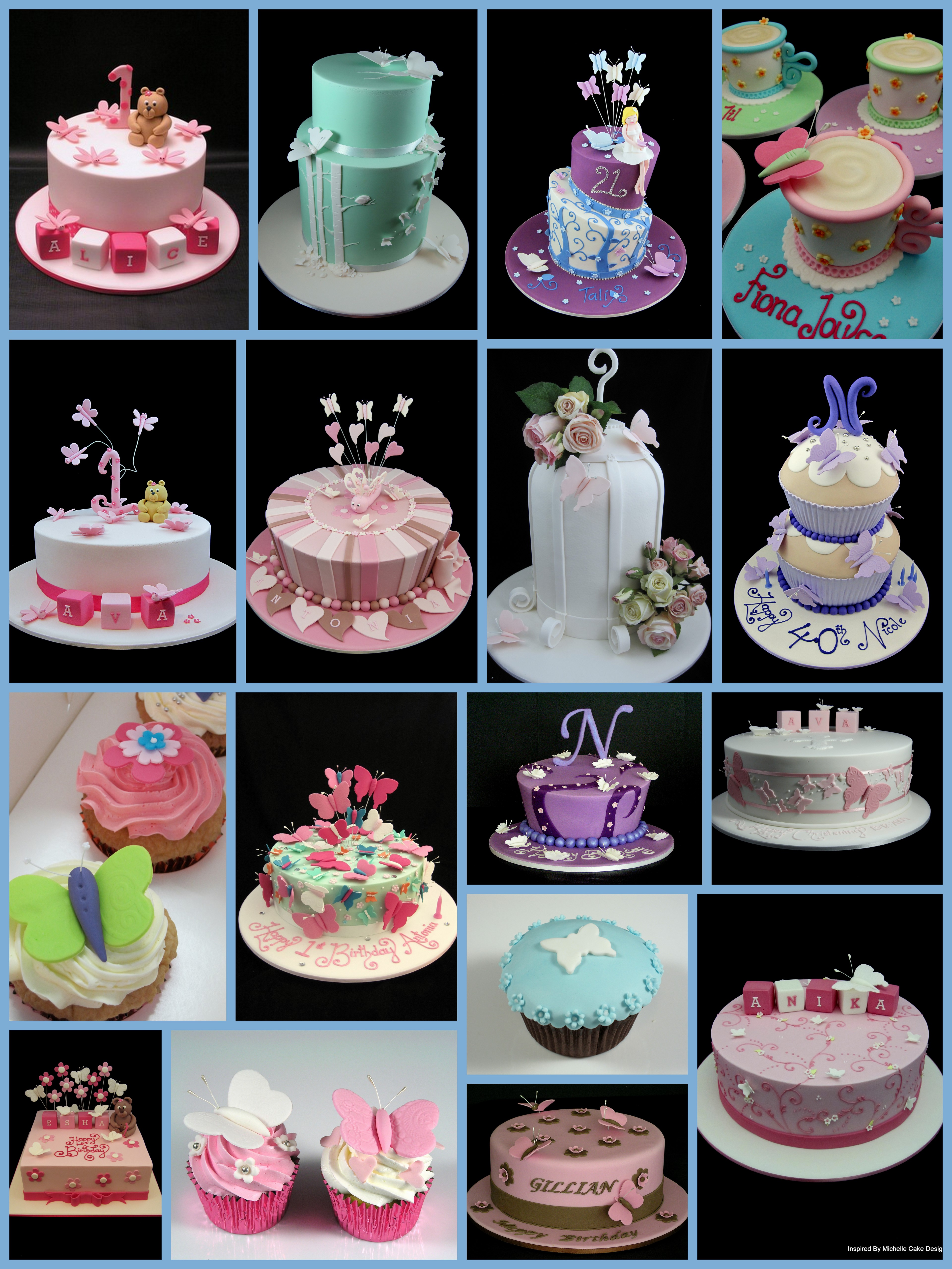 Butterfly Decorated Cake Ideas