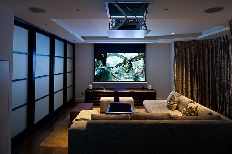 Projector Wall Flat Screen Tv