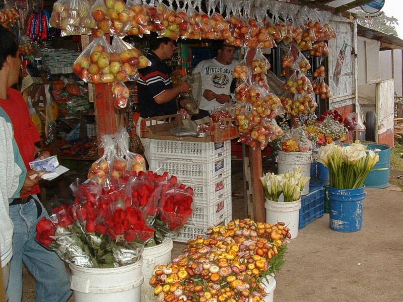 Costa Rican Corner Market