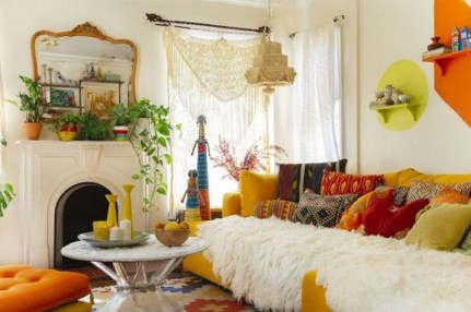 38+ Luxury Boho Chic Home and Apartment Decor Ideas 24